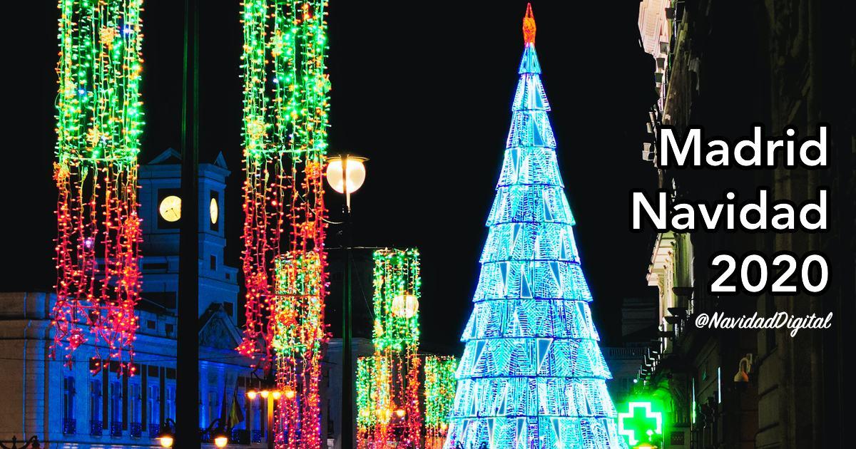 Puerta del Sol Navidad 2020